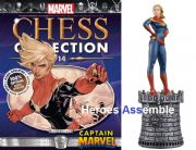Marvel Chess Collection #14 Captain Marvel Eaglemoss Publications